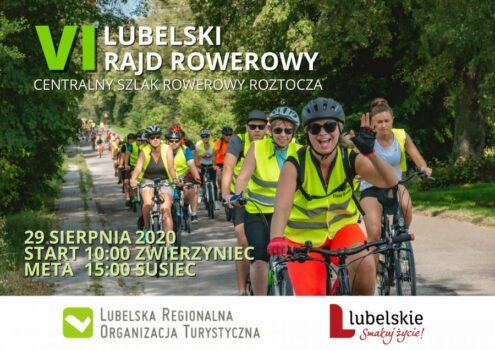 Obrazek plakatu lubelskiego rajdu rowerowego