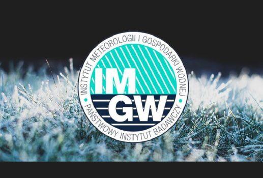 logo instytutu meteorologicznego i gospodarki wodnej